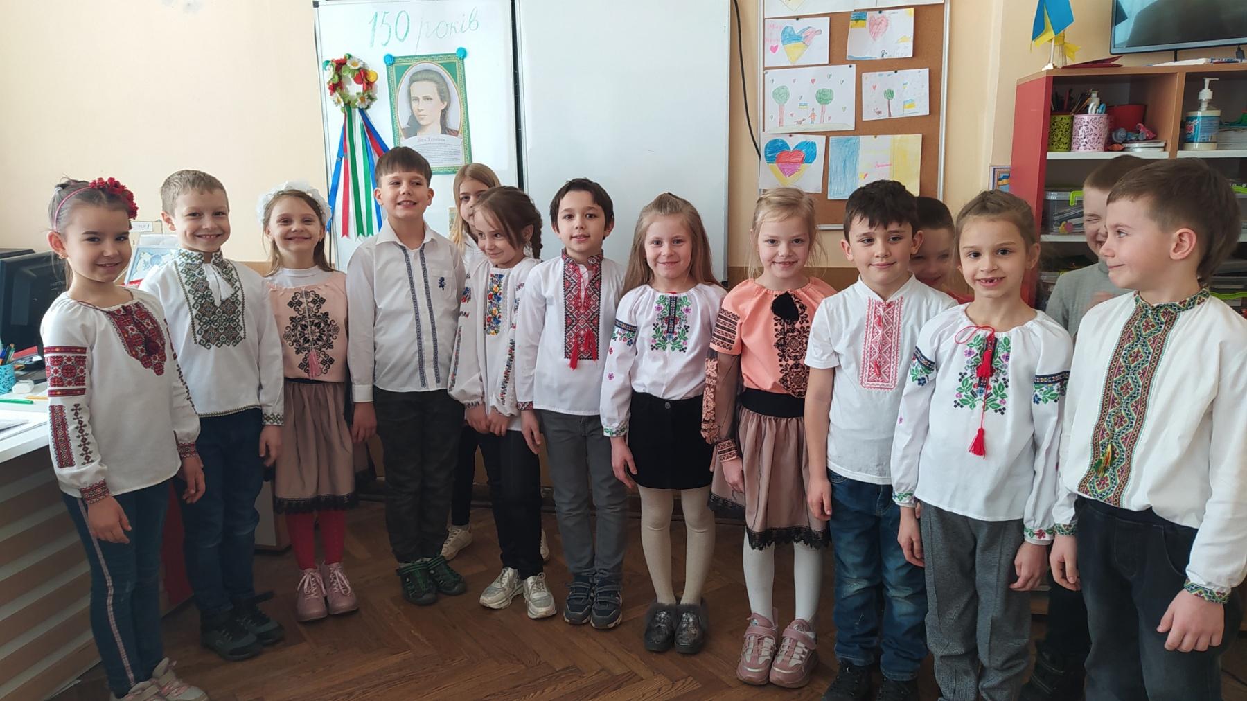 Захід, присвячений 150-річчю з дня народження Лесі Українки